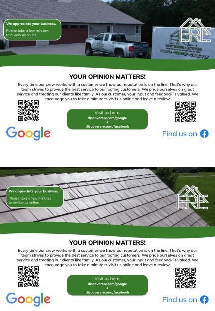 Graphic Design Review Flyer for Expert Roofing | Print Media | Twenty Four Media